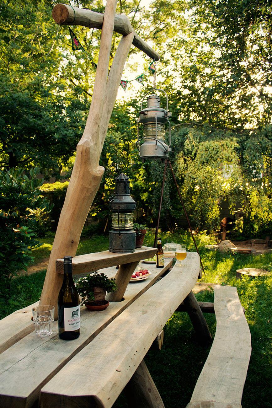 stoere picknicktafel