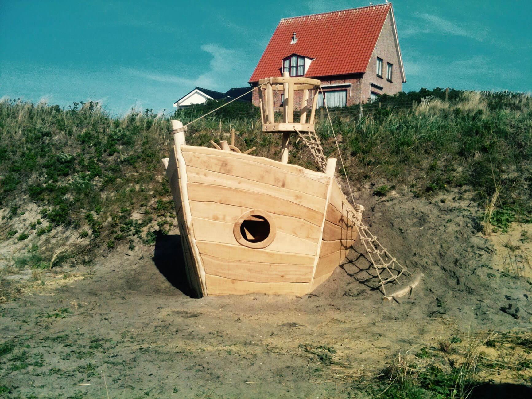 houten speelboot