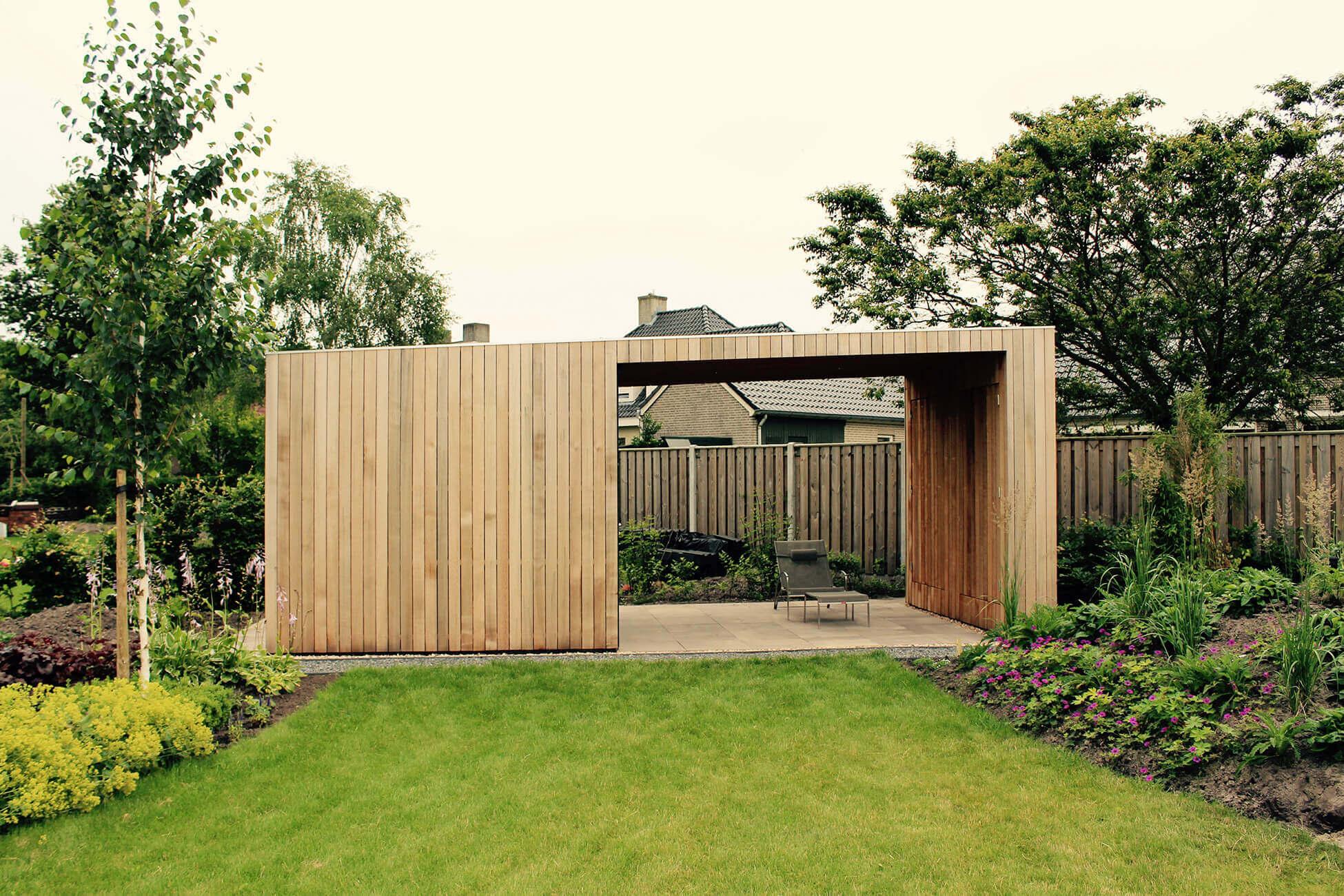 modern tuinhuis
