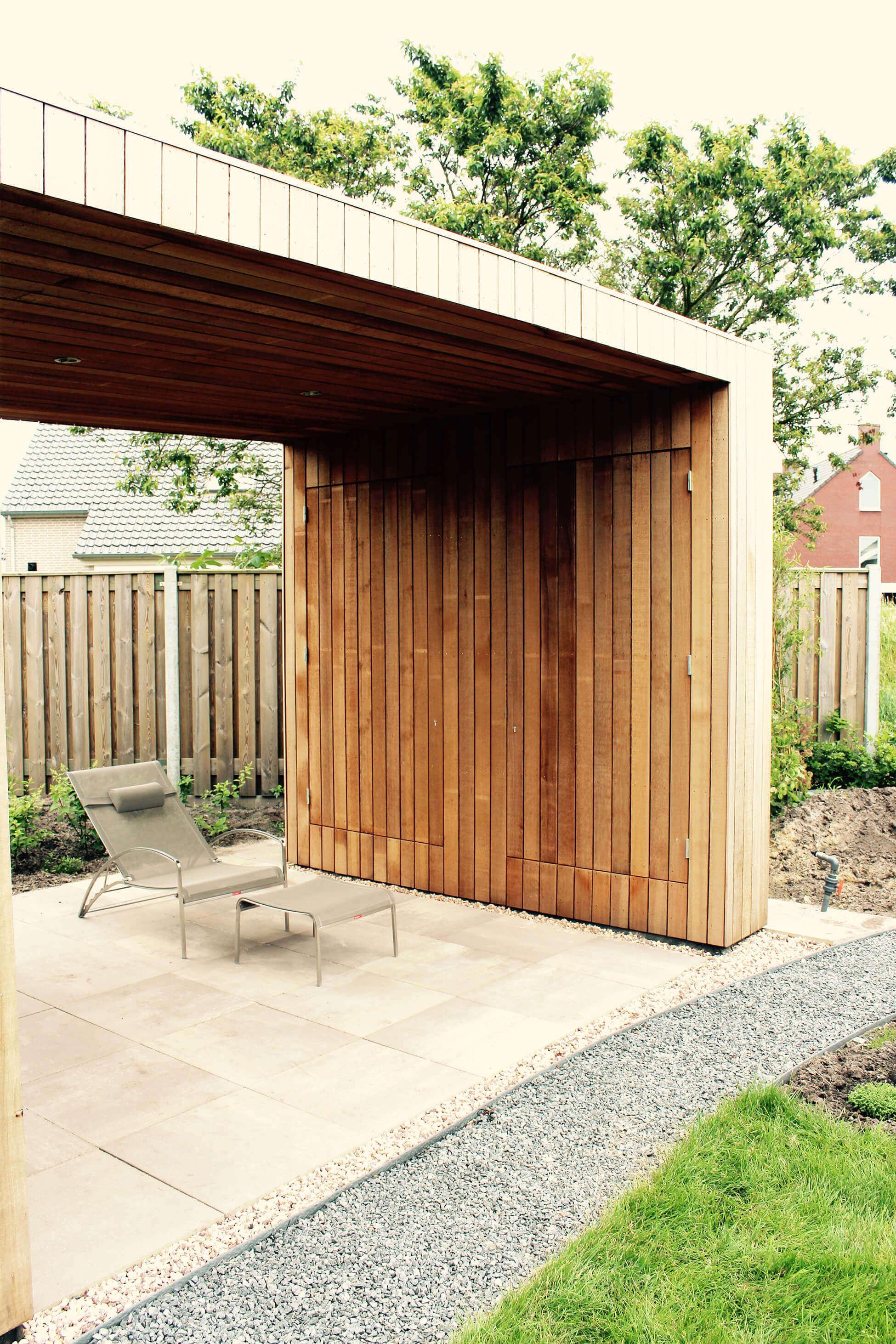 moderne tuinhuizen