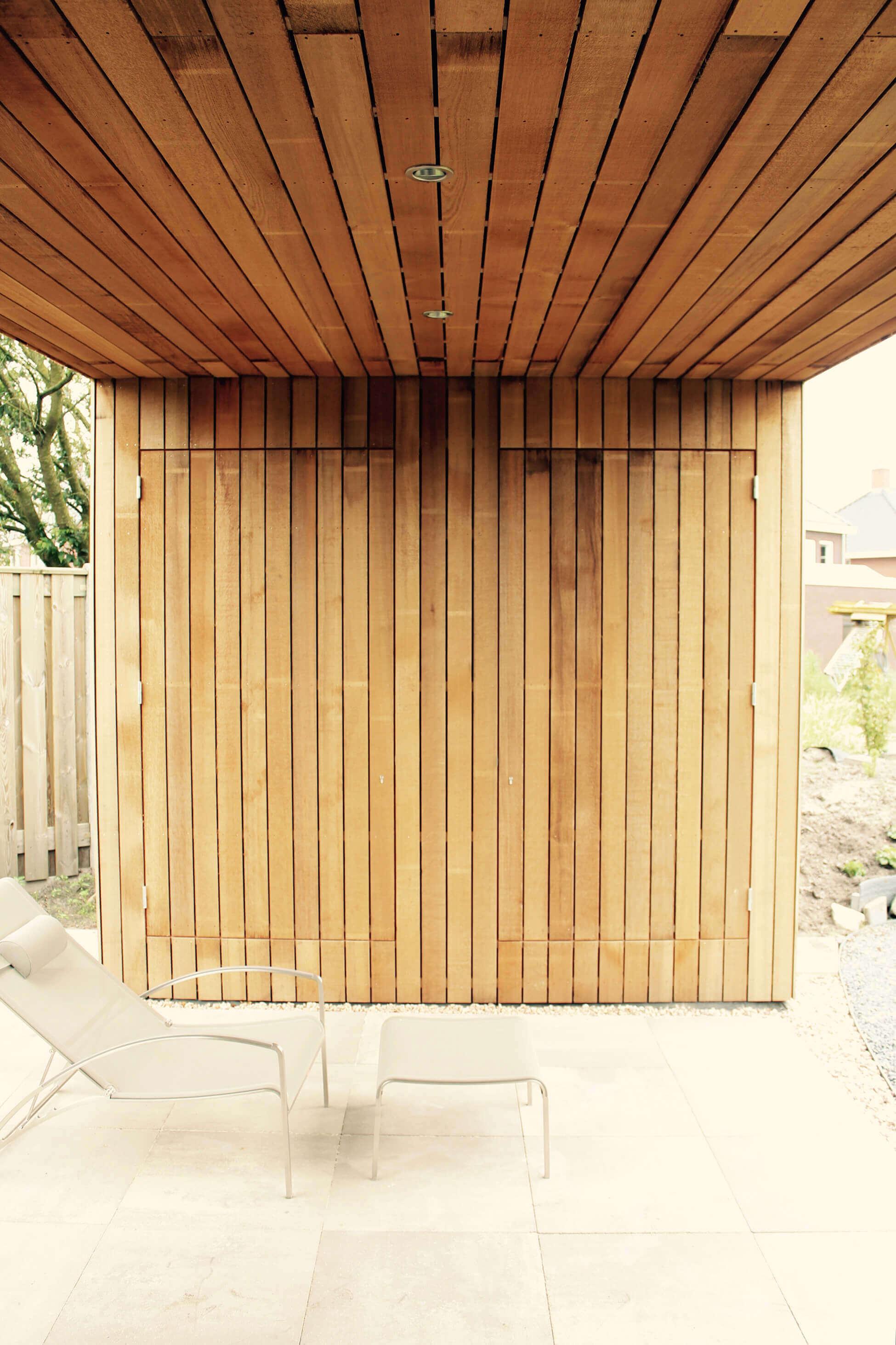 tuinhuis modern