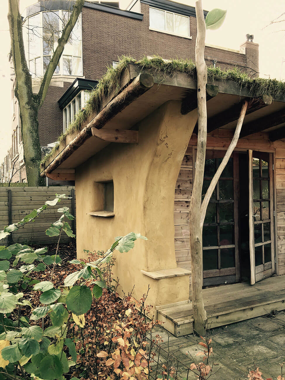 tuinhuis ecologisch